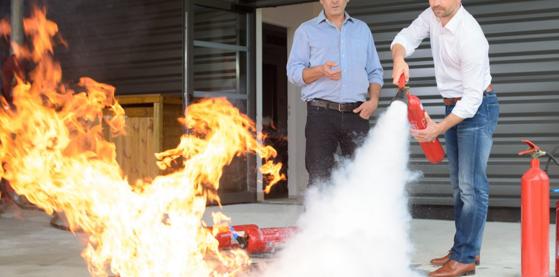 Fire safety instructor